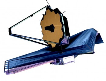 December 2007 artist conception of James Webb Space Telescope (Photo: NASA)