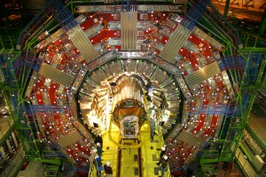 One of two large general-purpose particle physics detectors built on the proton-proton Large Hadron Collider (LHC) at CERN (Photo: CERN)