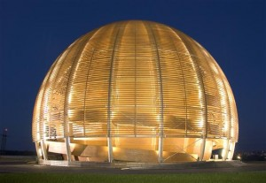 CERN'S Globe of Science and Innovation at night (Photo: CERN)