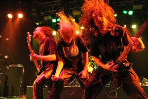 Members of heavy metal band Asphyx in concert (Photo: Hervegirod at en.wikipedia)