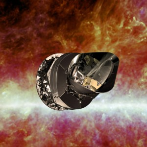 Artist's impression of the Planck spacecraft. (Photo: ESA)