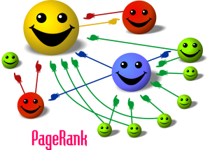 The principles of Google's PageRank (Image: Felipe Micaroni Lalli via Wikipedia Commons)