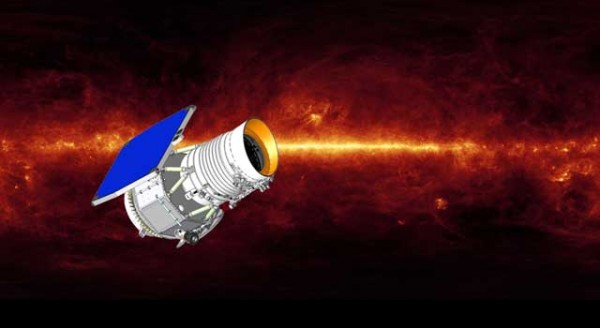Artist's concept of the Wide-field Infrared Survey Explorer. (Image: NASA/JPL-Caltech)