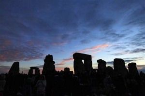 Summer Soltice Sunrise at Stonehenge (Photo: AP Photo/Lefteris Pitarakis)