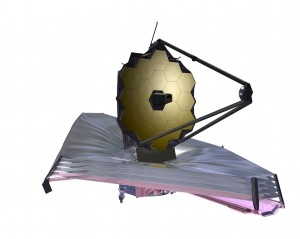 Artist conception of James Webb Space Telescope (Image: NASA)