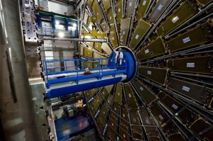 Another view of a segment of the Large Hadron Collider at CERN. (Photo: AP/CERN)