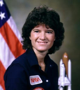 Sally Ride's official astronaut portrait. She joined the astronaut corps in 1978. (Photo: NASA)
