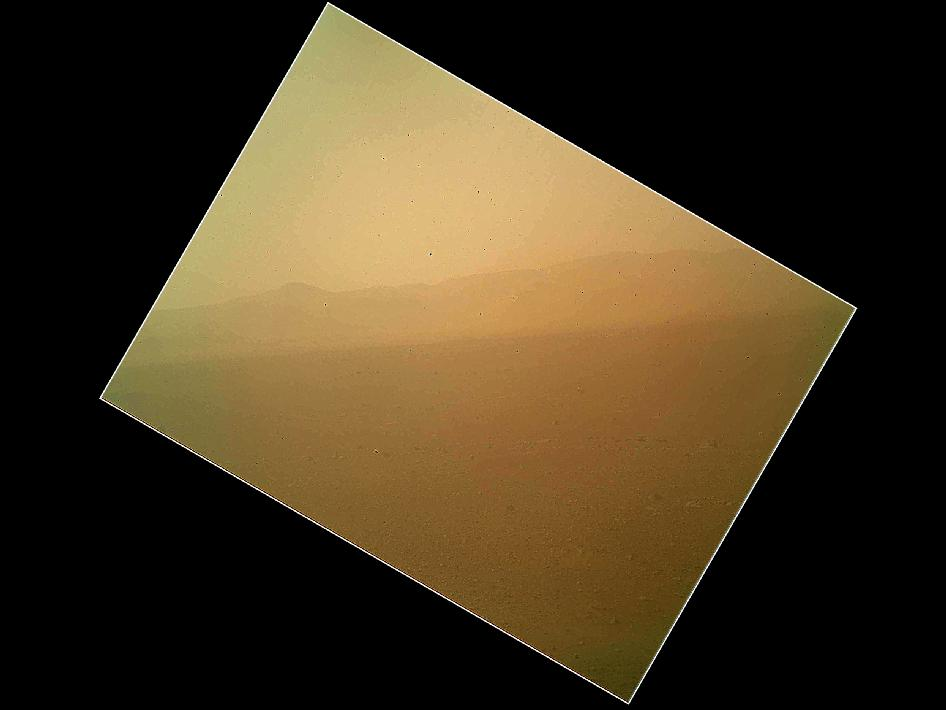 First color image of the Martian landscape returned from curiosity 08-06-12 (Image: NASA/JPL-Caltech/Malin Space Science Systems)