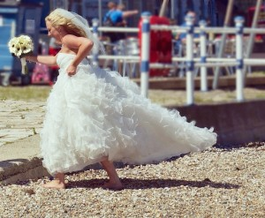 """I DON'T!"" - Runaway bride (Photo: Kate Hiscock via Flickr/Creative Commons)"