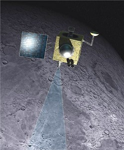 Artist's rendering of India's Chandrayaan-1 spacecraft that went to the moon in 2008. (Photo: ISRO)