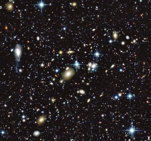 This is image filled with a number of galaxies and other cosmological objects was taken from just a very small fraction of Canada-France-Hawaii Telescope Legacy Survey (Image: ©CFHT/Coelum)
