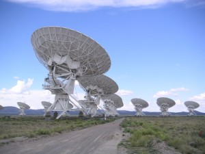 The Very Large Array, a collection of 27 radio antennas, located in Socorro, New Mexico a component of the National Radio Astronomy Observatory (NRAO) (Photo: Wikimedia Commons/Creative Commons)