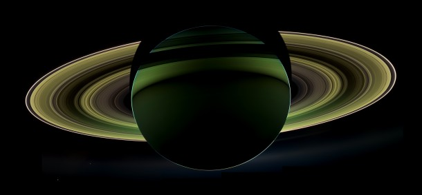 NASA's Cassini spacecraft recently delivered a spectacular view of Saturn, taken while the spacecraft was in Saturn's shadow. The cameras were turned toward Saturn and the sun so that the planet and rings are backlit. (Image: NASA/JPL-Caltech/Space Science Institute)