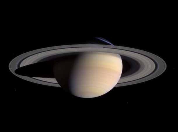 NASA's Cassini spacecraft took this natural color composite photo of Saturn (Photo: NASA)