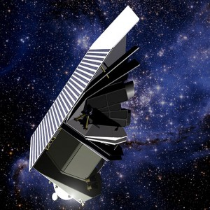 Artist illustration of the B612 Foundation's space telescope Sentinal (Image: B612 Foundation)
