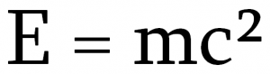 Einstein's famous equation (Image: Quatrostein)