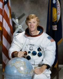 "Astronaut Russell L. ""Rusty"" Schweickart - Circa 1971 (Photo: NASA)"