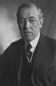 Supernova SN UDS10Wil was nicknamed SN Wilson after the 28th US President, Woodrow Wilson (Library of Congress)