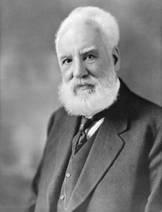 Portrait of Alexander Graham Bell, circa 1914-1919 (Moffett Studio/Library and Archives Canada via Wikimedia Commons)