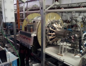 The fusion driven rocket test chamber at the UW Plasma Dynamics Lab in Redmond. (University of Washington, MSNW)