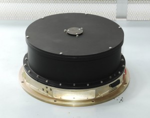 A photo of one of the reaction wheels aboard the Kepler spacecraft (Ball Aerospace & Technologies/NASA)