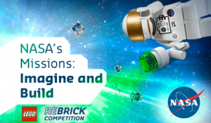 "Called ""NASA's Missions: Imagine and Build"" - toy maker Lego and NASA have teamed up for a competition to encourage young people to envision the future of space exploration (LEGO/NASA)"