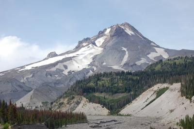 Mount Hood in Northern Oregon (Eric Klemetti, Denison University)