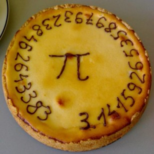 It's a Pi Pie, created at Delft University of Technology in the Netherlands (Wikimedia Commons)