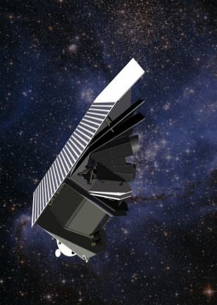 Artist's concept of the B612 Foundation's Sentinel Space Telescope ((c) B612 Foundation)