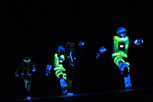 Robot dancers open the first LEGO League Open Championship in Pamploma, Spain.  90 teams from a number of countries around the world are taking part in this completion; organizers say celebrates science and technology. (AP)