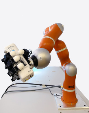 Ultra-fast robotic arm developed by scientists at the Learning Algorithms and Systems Laboratory (LASA) at the Swiss Federal Institute of Technology in Lausanne, Switzerland ((c)EPFL)