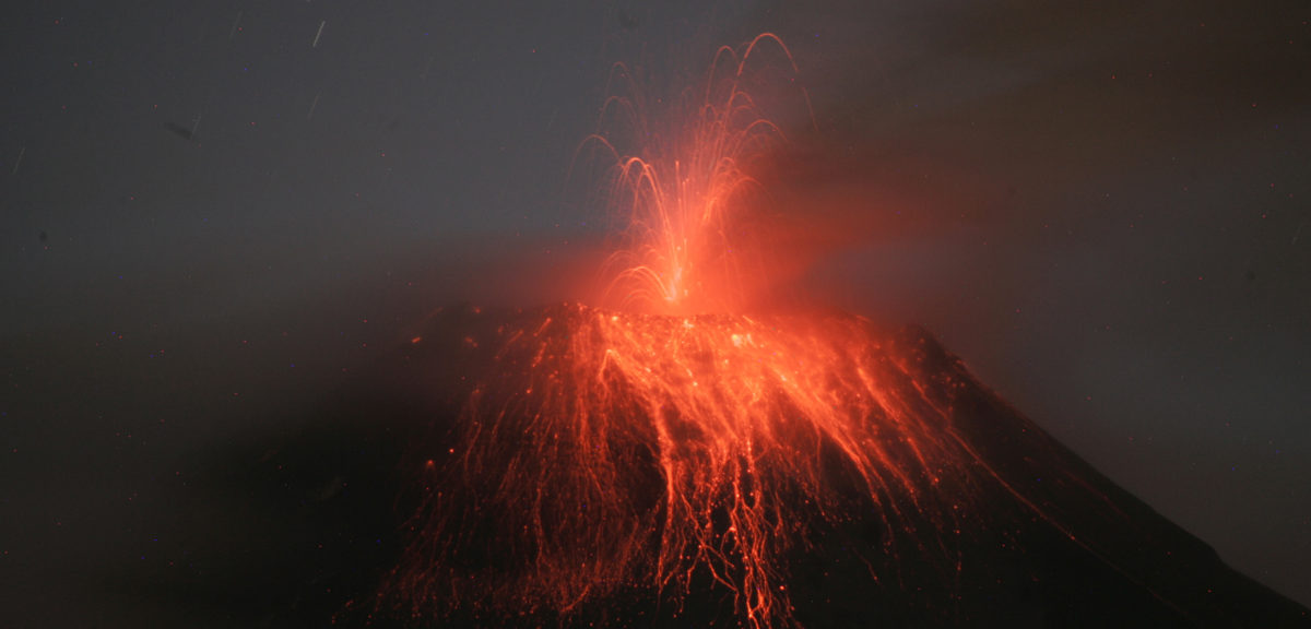 "This is Ecuador's Tungurahua, or ""Throat of Fire"", volcano as it erupts on August 24, 2014. (Reuters)'s another of this week's active volcanoes. This is Ecuador's Tungurahua, or ""Throat of Fire"", volcano as it erupts on August 24, 2014. (Reuters)"