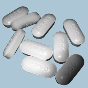 Ciprofloxacin tablets (AJ Cann via Flickr/Creative Commons)