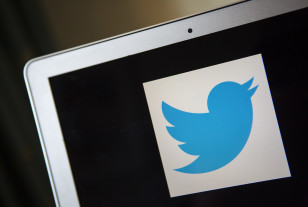 A portrait of the Twitter logo (Reuters)