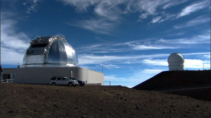 NASA's Infrared Telescope Facilitya, located atop of Hawaii's Mauna Kea. (NASA/JPL-Caltech)