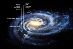"A ""rippled"" Milky Way may be 50 percent larger than previously estimated (Rensselaer Polytechnic Institute)"