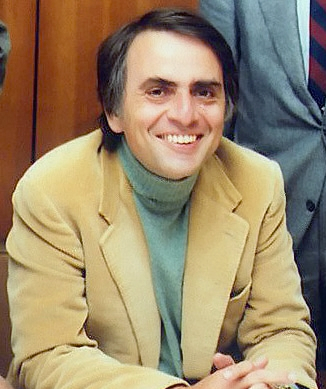 The late Carl Sagan: author, educator, astronomer, cosmologist, astrophysicist, astrobiologist,  and science communicator. (NASA/JPL via Wikimedia Commons)