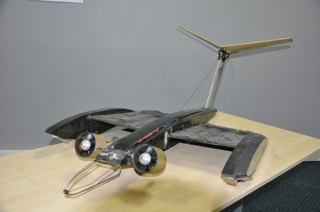 Bat inspired membrane wings mounted on a Micro Air Vehicle (EPSRC)