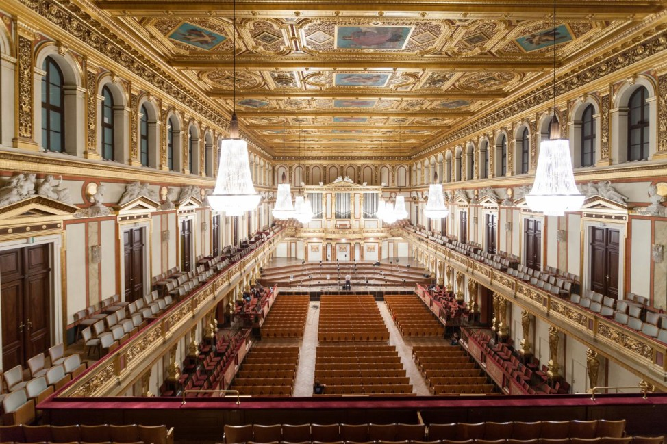 Vienna Musikverein is a classic shoebox-type concert hall. (Jukka Pätynen)