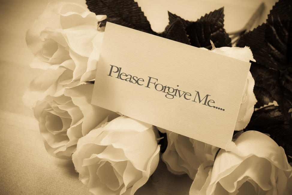 Asking for forgiveness (Vic @ Flickr/Creative Commons)