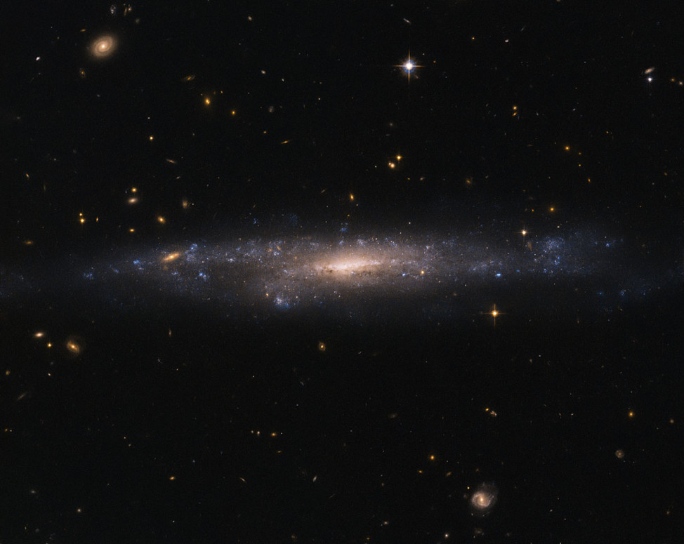 After 26 years of service, the Hubble Space Telescope continues to capture amazing images of our universe. Released on 4/16/16, this is galaxy UGC 477 located some 110 million light years away in the constellation Pisces – The Fish (NASA/ESA)
