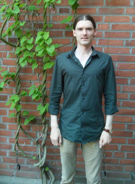 Researcher Alexander Mustill (Lund University)