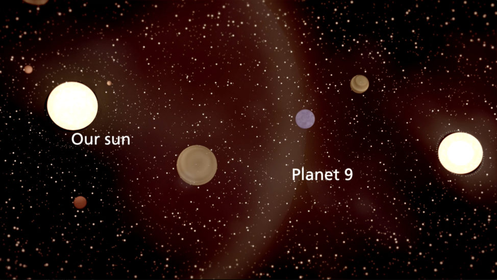 Planet 9 captured by Sun from another star system (Lund University)