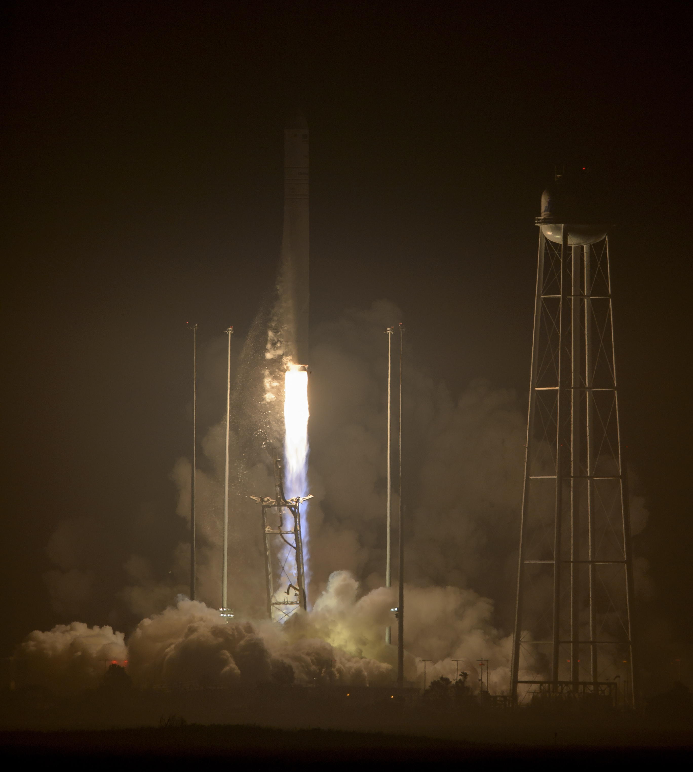 office receptionist resume%0A The Orbital ATK Antares rocket  with the Cygnus spacecraft onboard   launches from Pad
