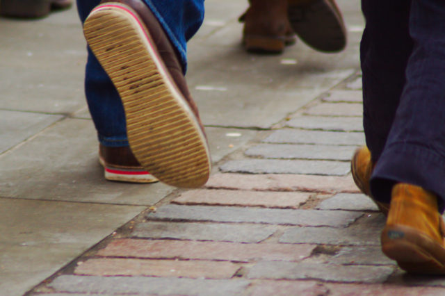 Walking feet (Pete Stanton/Creative Commons via Flickr)