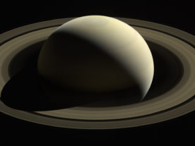 With this view, Cassini captured one of its last looks at Saturn and its main rings from a distance. (NASA/JPL-Caltech/Space Science Institute)