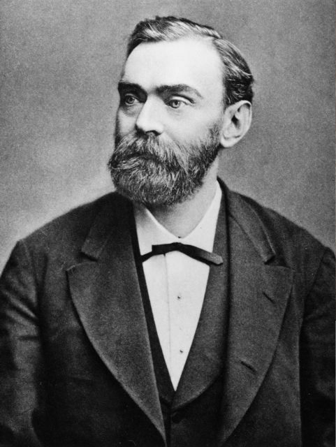 Alfred Nobel before 1896 (Public Domain)