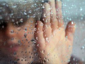 Rainy day woman (CC Public Domain via PxHere)