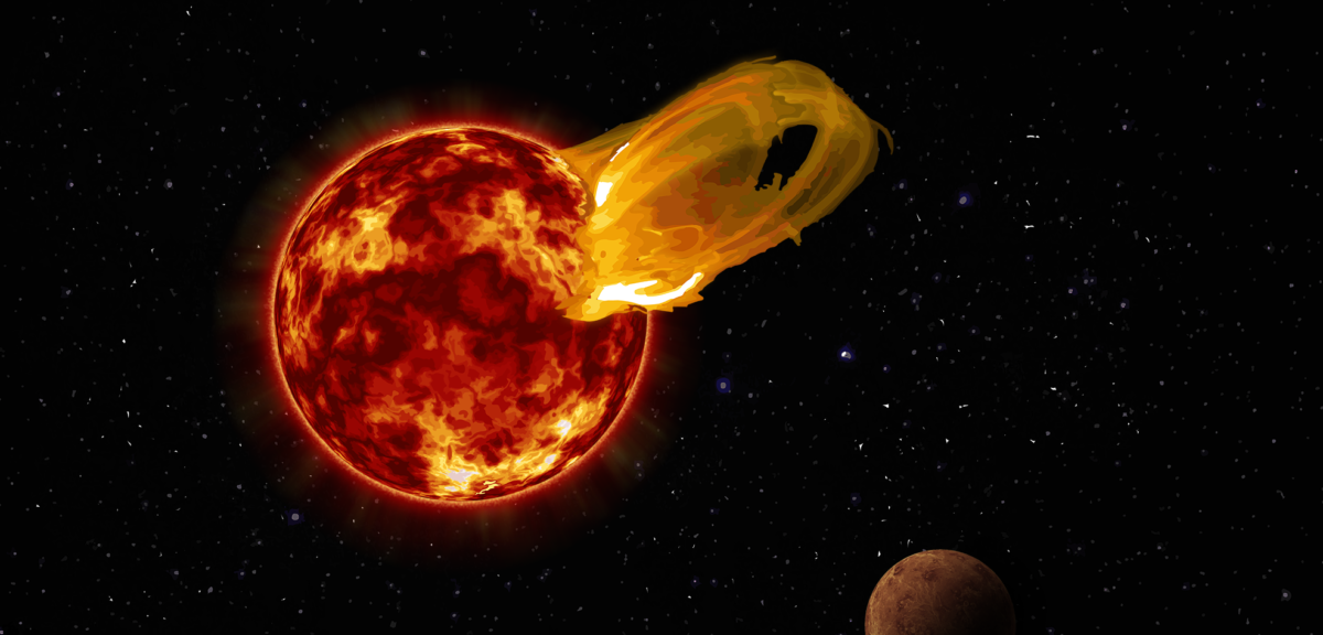 nearby star produces powerful solar flare blast science world
