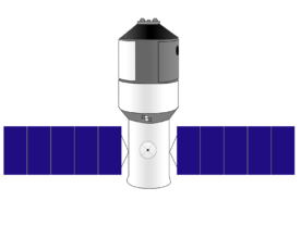 Drawing of the Tiangong-1 (Craigboy/Wikimedia Commons)
